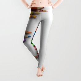 Colored pencil 10 Leggings