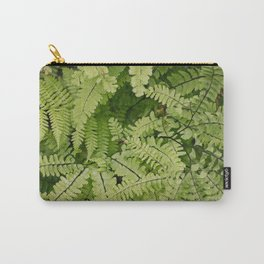 ferns. Carry-All Pouch