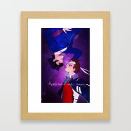 The Sun and Stars Framed Art Print