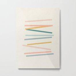 Sticks Metal Print