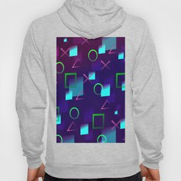 Abstract Play Station 4 Controller Buttons Hoody