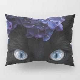 Lilla Black Cat Pillow Sham