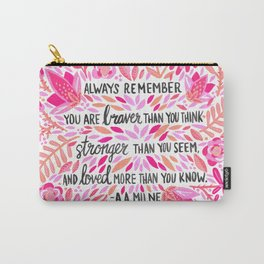 Always Remember – Pink Ombré Palette Carry-All Pouch