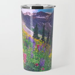 Multicolor Slope on Blue Lakes Pass, Colorado Travel Mug