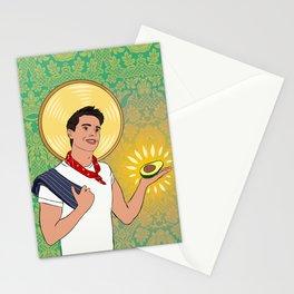 Antoni, Patron Saint of Avocados Stationery Cards