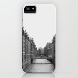 Hamburg Speicherstadt iPhone Case