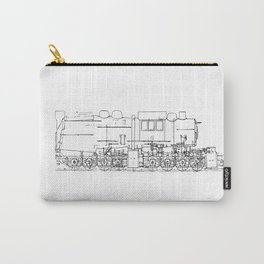 Sketchy train art Carry-All Pouch