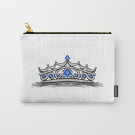 Blue Tiara Carry-All Pouch