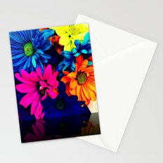 Neon Daisies Stationery Cards