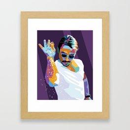 #saltbae Framed Art Print
