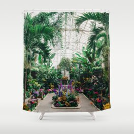 The Main Greenhouse Shower Curtain