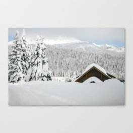 Snoqualmie Pass Canvas Print