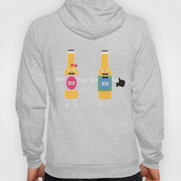 Wedding Beerbottle couple T-Shirt Dn4bx Hoody
