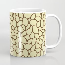 Stone floor beige or reptile skin Coffee Mug