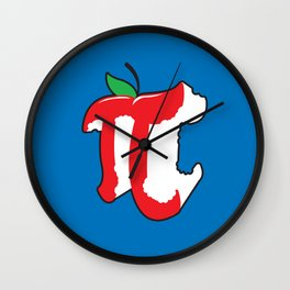 Apple Pi Wall Clock