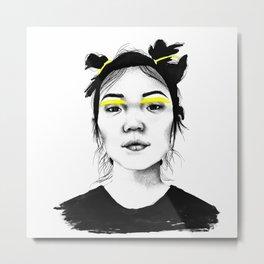 Xiao Wen Ju Metal Print