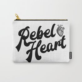 Rebel Heart Human Heart A354 Carry-All Pouch