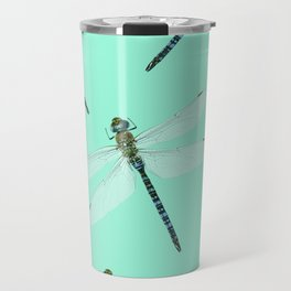 Dragonfly pattern Travel Mug