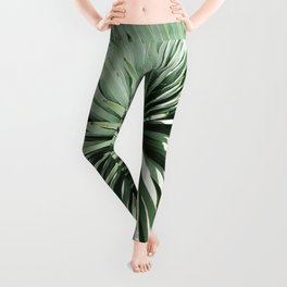Succulent by Zouzounio Art Leggings