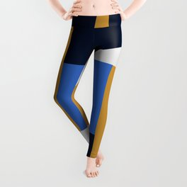 Abstract Geometric Leggings