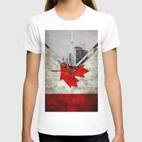 canada T-shirts featuring Flags - Canada by Ale Ibanez