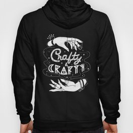 Crafty & Crafty - B&W Hoody