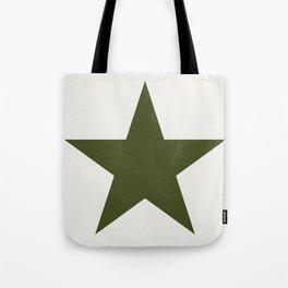 Vintage U.S. Military Star Tote Bag