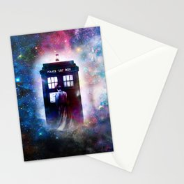 tardis nebula Stationery Cards