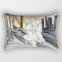 Bridge Kiss Rectangular Pillow