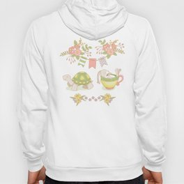 Hare and Tortoise -pattern- Hoody