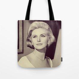 Joanne Woodward, Vintage Actress Tote Bag