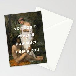 I Need Idylle Stationery Cards