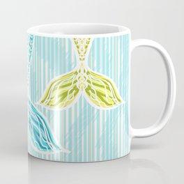 Mermaids and Stripes Coffee Mug