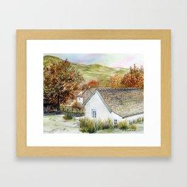 Buttermere Village Framed Art Print