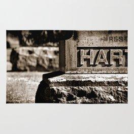 Rest Hart BW Rug