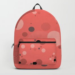 Coral Dots Backpack
