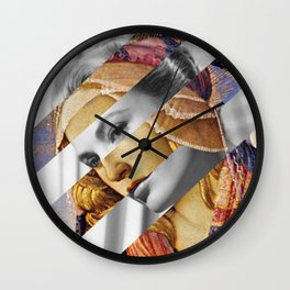"Botticelli's ""Madonna of the Magnificat"" & Grace Kelly Wall Clock"