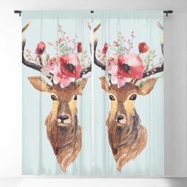 Bohemian Deer 2 Blackout Curtain