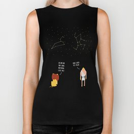 Awkward Constellations Biker Tank