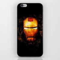 iron man iPhone & iPod Skins featuring Iron Man by Sirenphotos