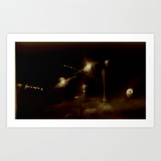 Lost in Some City No. 9 Art Print
