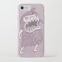 sasquatch iPhone & iPod Cases featuring Sasquatch by Damien Mason