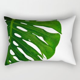 Banana Leaf (Color) Rectangular Pillow