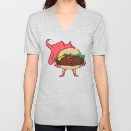 Hamburger Heroes Unisex V-Neck