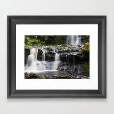 Blaen-y-glyn Waterfall 2 Framed Art Print