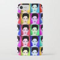 emma watson iPhone & iPod Cases featuring Emma Watson by Joe Hilditch