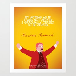 Theodore Roosevelt, Number 5 Art Print