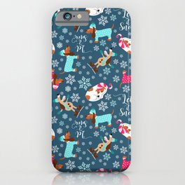 Winter Dogs iPhone Case