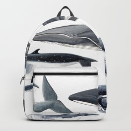 Whale diversity Backpack