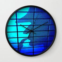 SHERLOCKED blue  Wall Clock